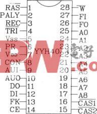 语音合成芯片YYH40应用电路图