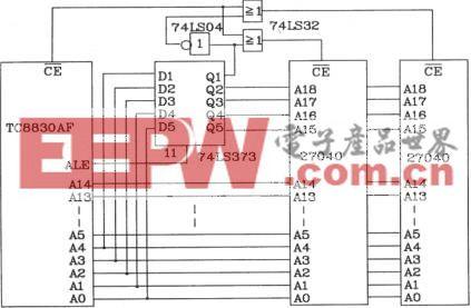 语音合成芯片TC8830AF和单片机的接口电路图
