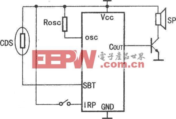 HY8000A光控應用電路原理圖