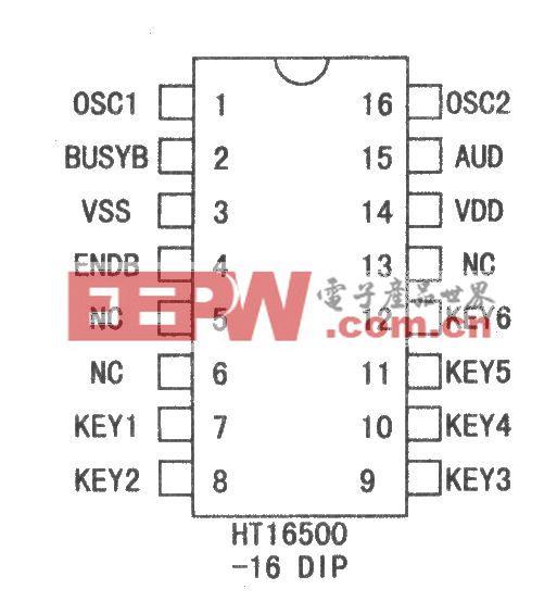HT16500语音集成芯片