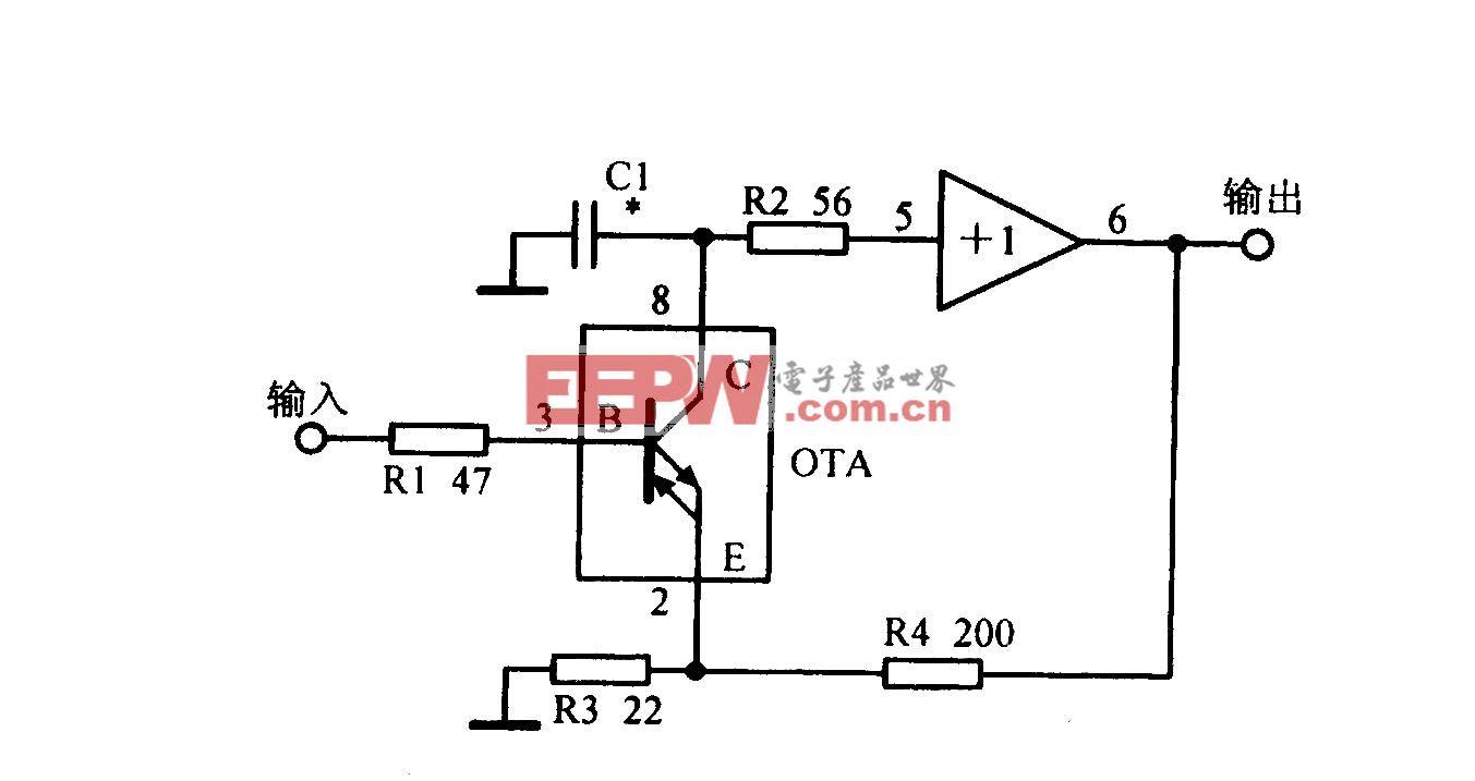 电流反馈放大电路