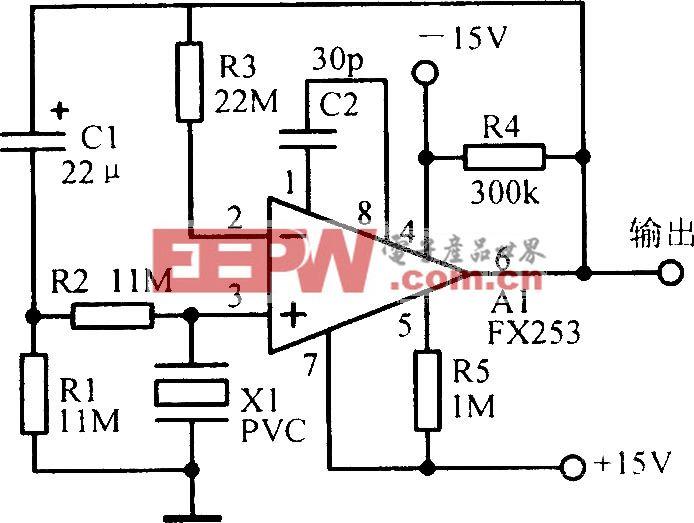 压电变换放大电路
