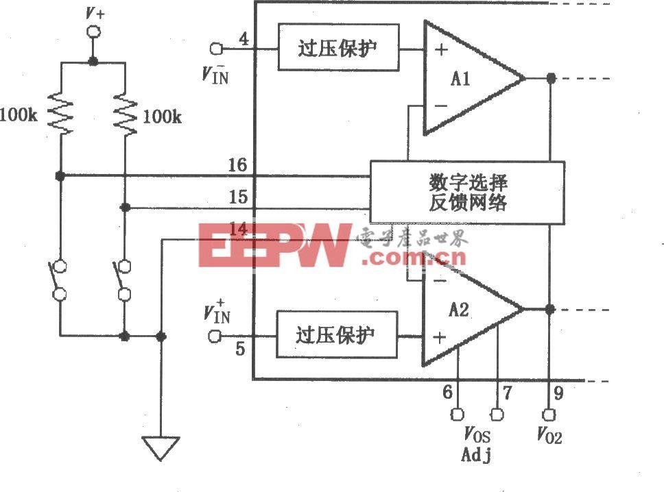 數字輸入電路(PGA204/205)