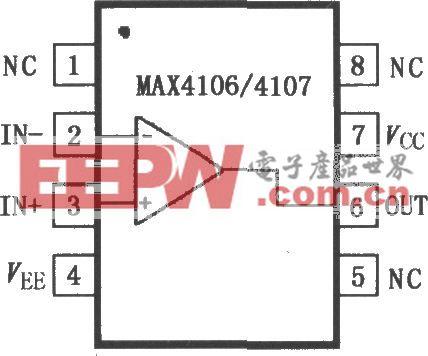 MAX4106/4107极低噪声运算放大器