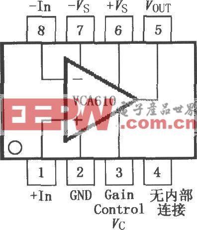 寬帶電壓控制放大器VCA610