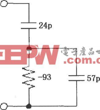 VCA2613/2616的输入阻抗等效电路