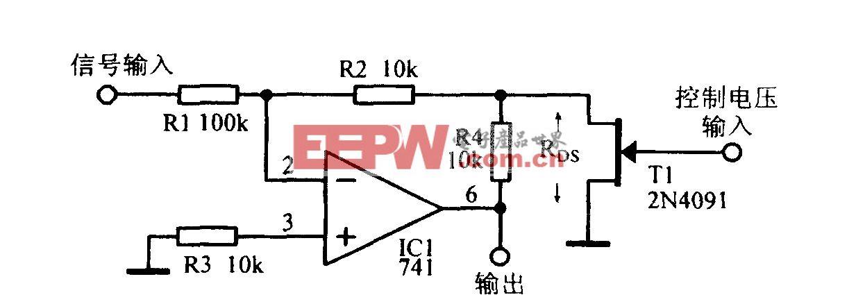 宽动态范围增益控制放大电路