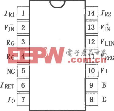 具有传感器激励的4~20mA电流变送器XTR112/114