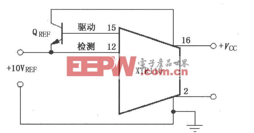XTR110擴大驅動電流電路