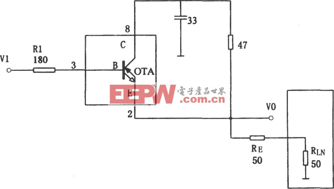 极宽带大电流缓冲器