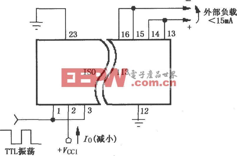 减小功耗的ISOll3电路