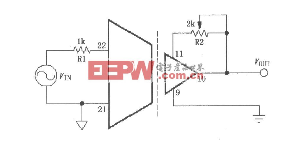 ISO103增益调节电路