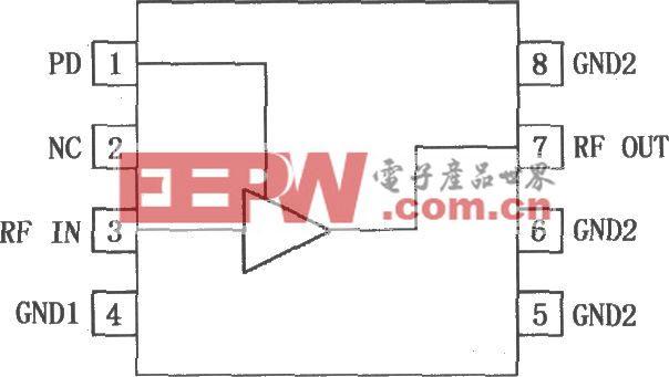 RF2347低噪声PA驱动放大器