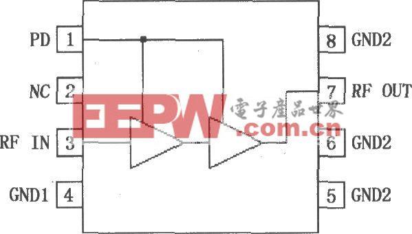 POS CDMA/TDMA PA驱动放大器RF2324