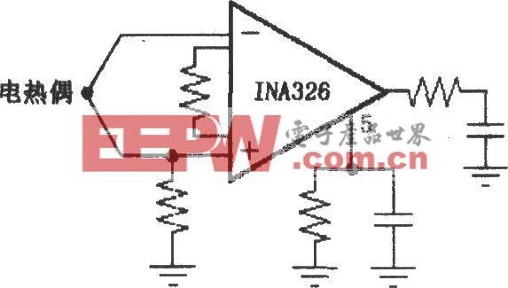 INA326/327提供偏流返回通路电路