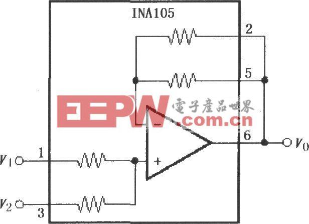精密平均值放大电路(INA105)