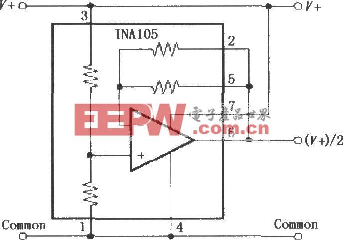 INA105虚地产生电路