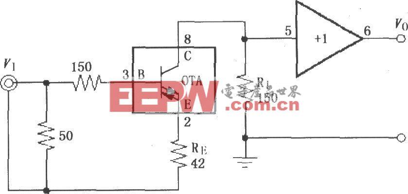 由由0PA660构成的电缆放大电路OPA660构成的电缆放大电路