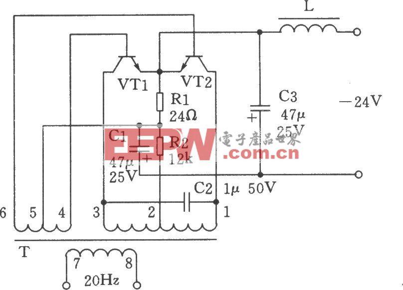 20Hz信号发生器(电话振铃系统)