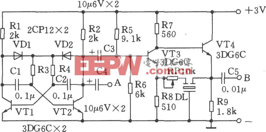 用陶瓷濾波器3L465制作中頻信號發生器