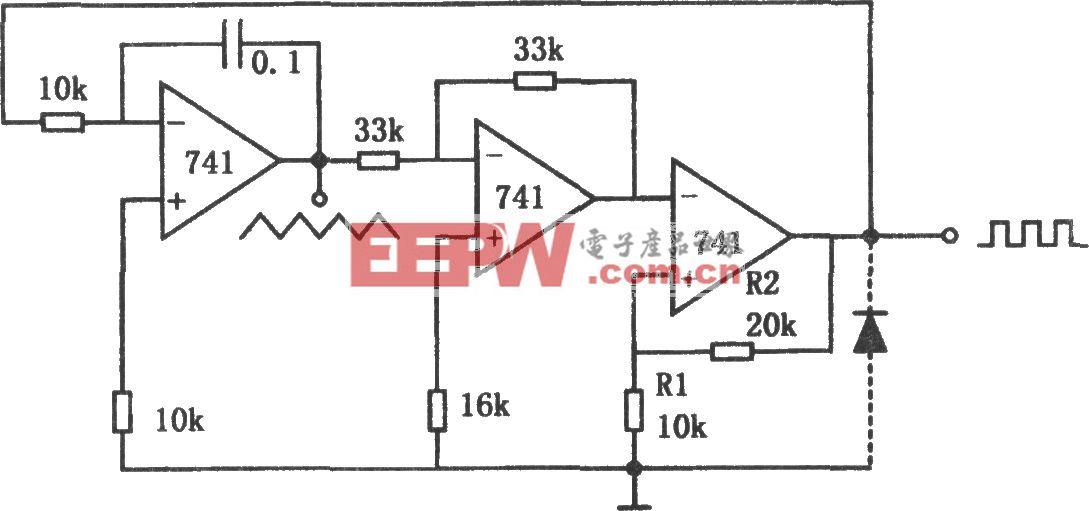 低频多种波形发生器(741)