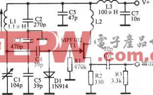 10MHz可变频率振荡器