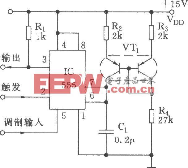 线性脉宽调制器电路(555)