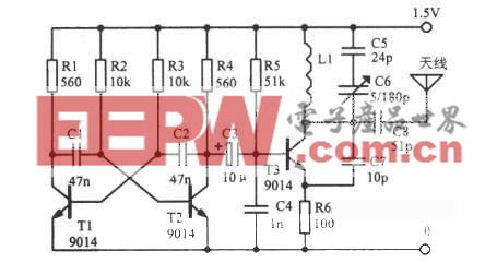 88~108MHz调频信号振荡器