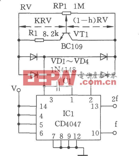 线性cmos振荡器_电路图