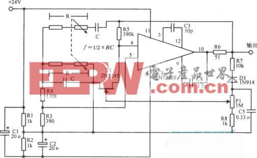 文氏电桥AF/RF电路