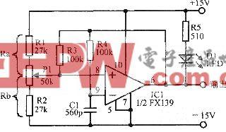 FXl39组成的多谐振荡器