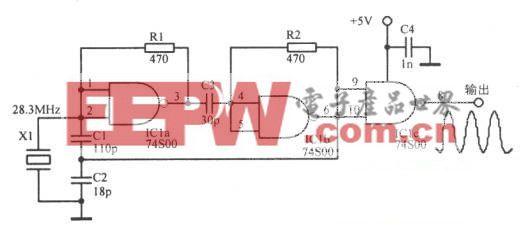 28.3MHz三次谐波TrL振荡器