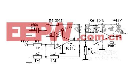 利用556组成的双无稳态多谐振荡器