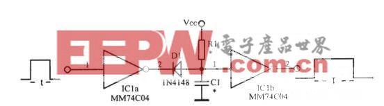 CMOS脉冲展宽电路
