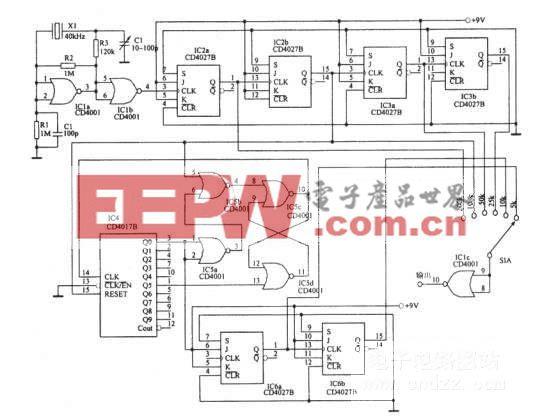 五频标频率标准发生器