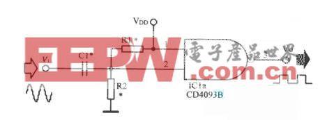 正弦波转换为方波的电路
