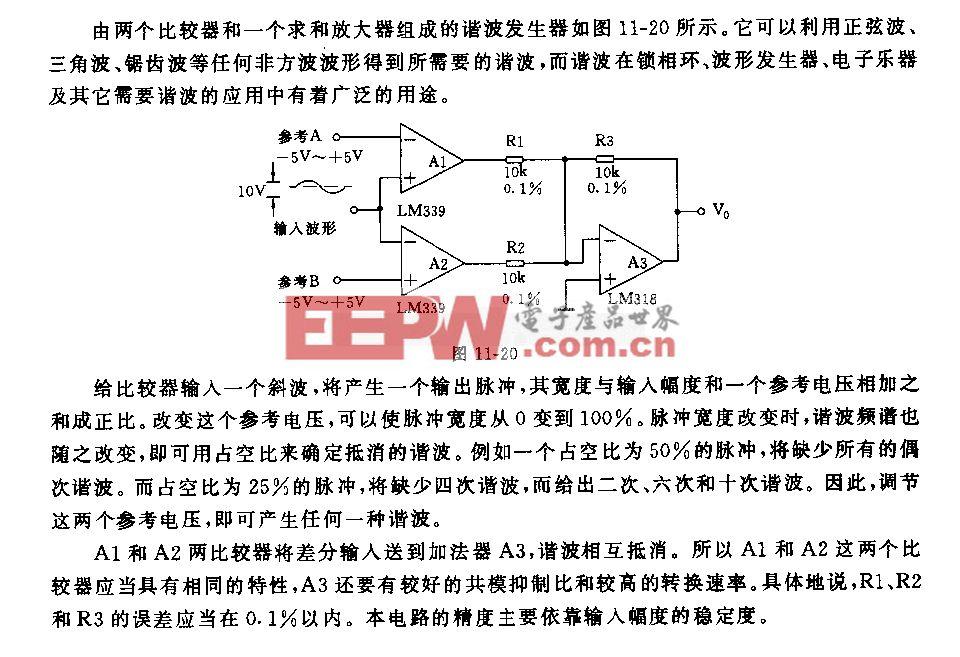 諧波發生器電路