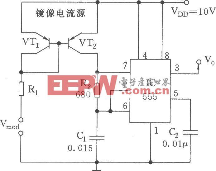 线性压控振荡器(555)