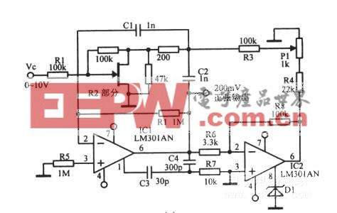 rc压控振荡器_电路图_电子产品世界