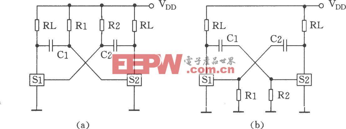 用CC4066组成的振荡器