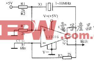 1~10MHz晶体振荡器