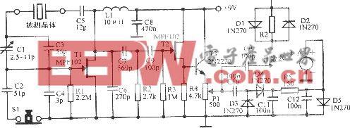 100kHz~20MHz晶体振荡器