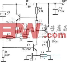 20~500kHz晶体振荡器