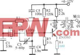 50~500kHz晶体振荡器
