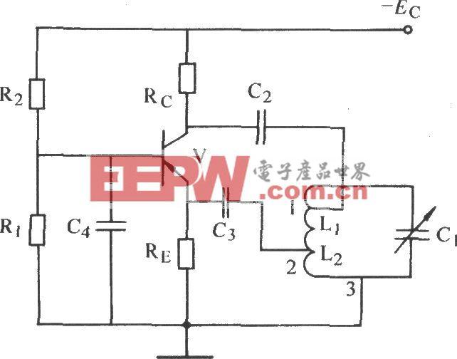 改进型共基极电感反馈振荡电路