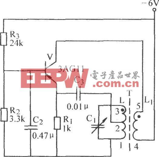 共基极变压器反馈振荡电路