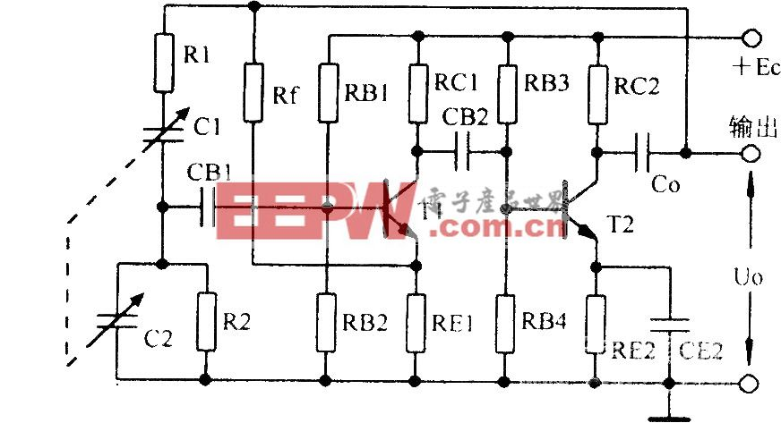 RC桥式振荡器及其等效电路