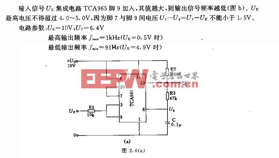 频率可调节的多谐振荡器电路