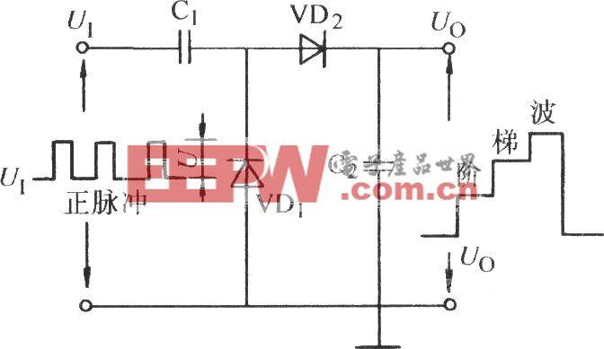 电荷储存式阶梯波电路