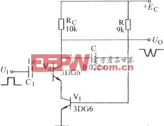 电容负反馈锯齿波电路(二)